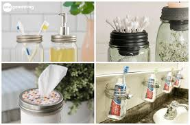 Cheap canning jars Glass Mason Mason Jar Organization Jillee 10 Ways That Mason Jars Make The Best Bathroom Storage Jillee