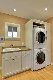 stackable washer dryer cabinet washer dryer cabinet small laundry room ideas washer dryer laundry room contemporary