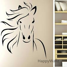 horse wall decal horse wall stickers modern horse wall decal decorative wall decors modern horse wallpaper horse wall  on horse wall decor stickers with horse wall decal vinyl artistic dancing horse wall sticker by horse