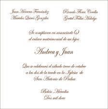 formato de invitaciones de boda redacccion y formato de boda