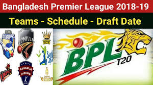 Bpl 2019 Bpl 2018 19 All Teams Names Schedule And Draft