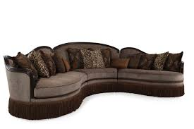 Traditional Sectional Sofas Living Room Furniture Art Furniture Giovanna Sable Three Piece Sectional Furniture