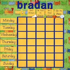 How To Make A Reward Chart For Behaviour How To Make A Behaviour Chart Noticeboard For Your Children