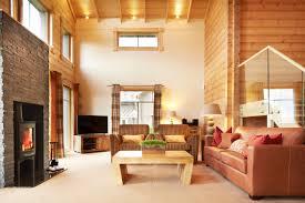 choosing rustic living room. Brown-couch-in-rustic-living-room-with-brown- Choosing Rustic Living Room