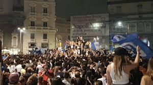 Napoli-fans massaal de straat op na bekerwinst