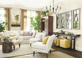 Living Room Wall Decor Wall Decorating Ideas For Living Room Using Mirror And Photographs