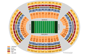 Aloha Stadium Seating Chart Virtual Aloha Stadium Seating Chart Virtual Elcho Table