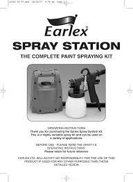 Earlex 0hv1900us3 Instructions Assembly Manualzz Com