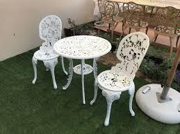 garden furniture. Jordans Cast Aluminium Garden Furniture
