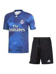 Ltd Madrid Kids 2019 Ea Sports Jersey Kit Real Edition