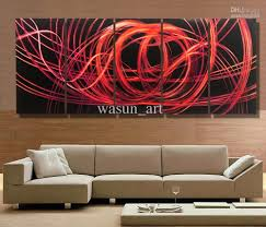 2017 Modern Contemporary Abstract Painting,metal Wall Art For Modern Wall  Art Uk (Image
