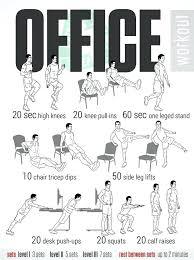 desk workouts standing desk workouts