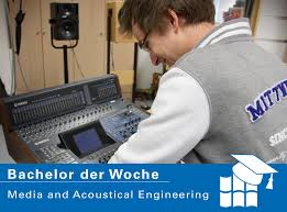 Acoustical Engineering Bachelor Der Woche Media And Acoustical Engineering Studieren In