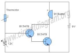temperature alarm circuit circuit diagram Simple Alarm Circuit Diagram temperature alarm circuit schematic simple alarm circuit diagram with relay