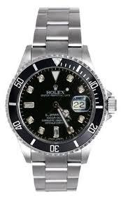 roberto cavalli r7253116525 diamond time men s analog date clear rolex submariner steel black diamond face black insert wow rolex