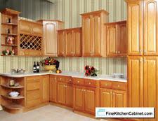 All Wood RTA 10x10 Country Oak Ready To Assemble Kitchen Cabinets Oak Wood Cabinets S25