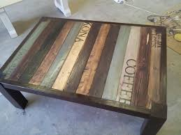 Coffee Table Painting Painted Coffee Tables Chalk Paint Coffee Table Makeover With