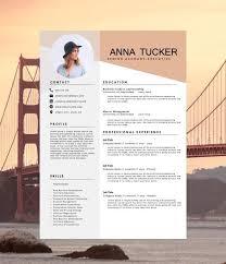 Creative Cv Template Modern Resume Design Templates All Best Cv