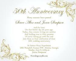 Anniversary Template 50th Anniversary Template Marvelous Wedding Anniversary Invitation