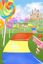 candy wonderland background. Delighful Candy Candy Land By Drakkenfan On DeviantART Background House  Trunk Or Treat With Wonderland Background N