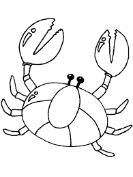 Small Picture Cute Crab Coloring Pages Animal Coloring pages of