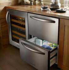 refrigerator drawers. while a nice and basic traditional stainless steel refrigerator might cost around $1,000 or so, getting into the drawer game typically starts drawers apartment therapy