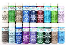 Martha Stewart Crafts Multi Surface Satin Acrylic Craft Paint 2 Ounce Promo767d Best Selling Colors Ii