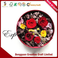 Paper Flower Suppliers Wholesale Custom Full Color Printing Handmade Round Paper