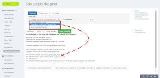 Script Designer Callhelper Sales Scripts Designer
