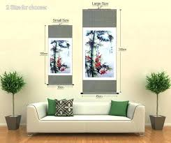 cosy hang painting on wall hang painting on wall high quality traditional painting pine blossom wall