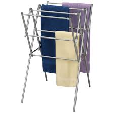dryer that folds clothes. Household Essentials Clothes Dryer Expander With Mesh Top Drying Rack - Satin Silver Urban Clotheslines That Folds S