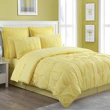 solid color comforter. Delighful Solid Fiesta Cotton 4 Piece Pintuck Luna Solid Color Comforter Set Bedskirt  Included And
