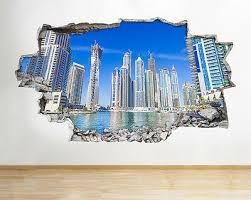 wall stickers dubai city scene