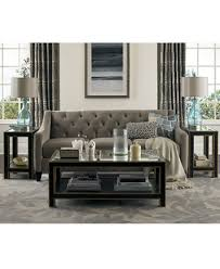 Chloe Velvet Tufted Sofa Living Room Furniture Collection ly at Macys Couches and Sofas