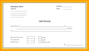 Sample Receipt Template Word Iso Certification Co