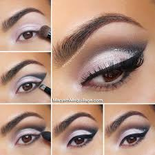 sweet and edgy makeup eye look