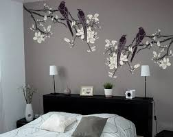 branch stencil for walls magnolia tree branch with birds large reusable diy wall stencil