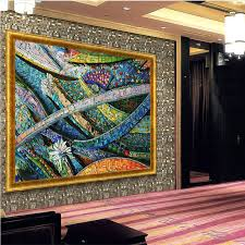 large mosaic wall murals with mosaic home decor.