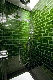 acceptable green glass subway tile bathroom houses for now f3374328 complex green glass