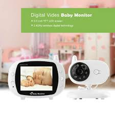 2018 Wholesale 3.5 Wireless Baby Monitor Wifi 2.4ghz With Two Way ...