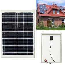 generic 18v 20w solar panel for outdoor fountain pond pool garden submersible water pump