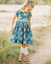Dress Patterns For Toddlers Awesome Wendy's Classic Collar Dress PDF Downloadable Sewing Pattern
