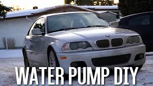 e46 330ci water pump replacement easiest way