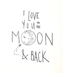 Quote I Love You To The Moon And Back Unique I Love You To The Moon And Back Via Tumblr On We Heart It