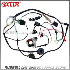 chinese 110 atv wiring harness wiring diagram \u2022 atv coil wiring diagram 110cc atv parts full electrics wiring harness cdi coil 110cc quad rh aliexpress com chinese 110 atv wiring harness chinese 110atv wiring harness connections