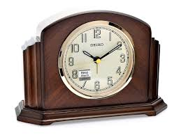 seiko wooden mantel clock c1894