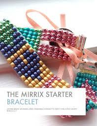 Bead Loom Bracelet Patterns Mesmerizing Starter Bracelet Tutorial Mirrix Tapestry Bead Looms