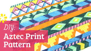 Aztec Patterns New Design