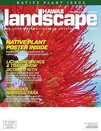 LICH Landscape Hawaii Magazine SeptemberOctober 40 Issue Adorable Love You Sis Hawa