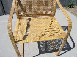 Bamboo Rattan Dining Chairs